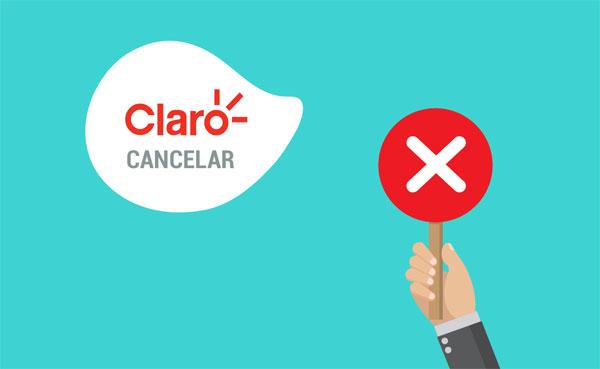 Como cancelar plano da Claro